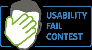 Usability Fail Contest Logo